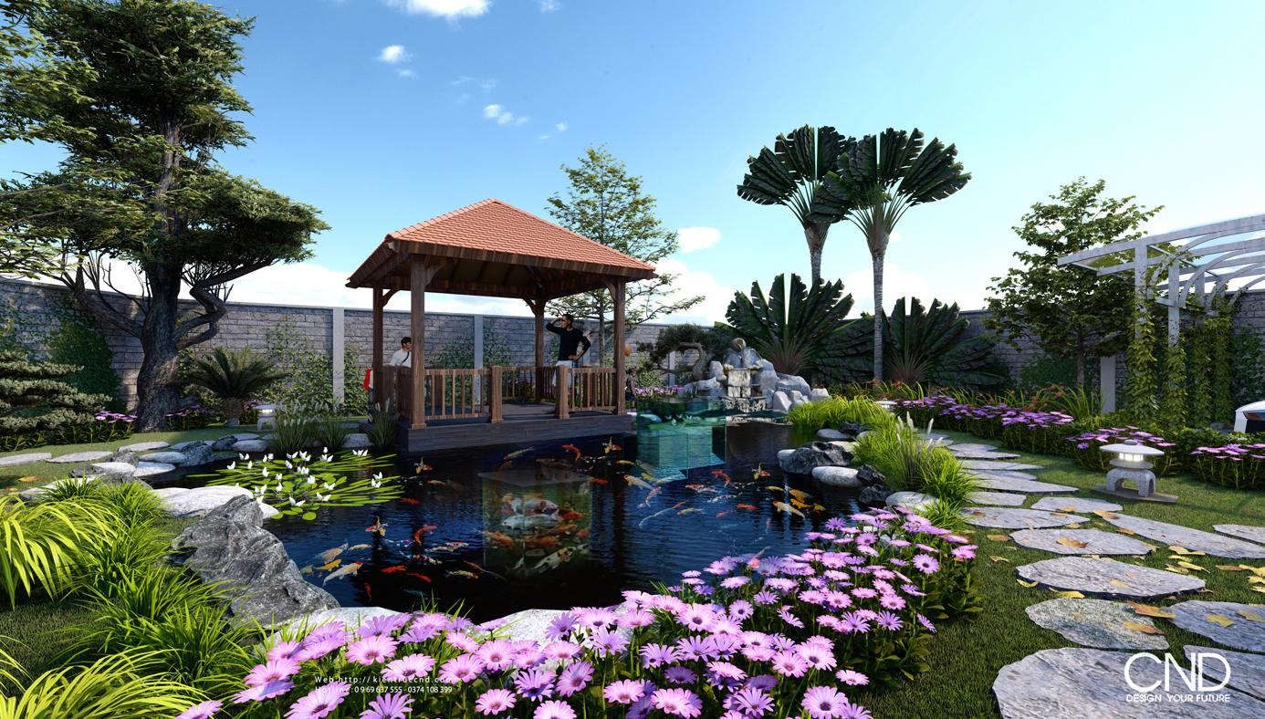 Thiết kế và thi công cảnh quan - Kiến trúc CND, Thành phố Vinh, Nghệ An
