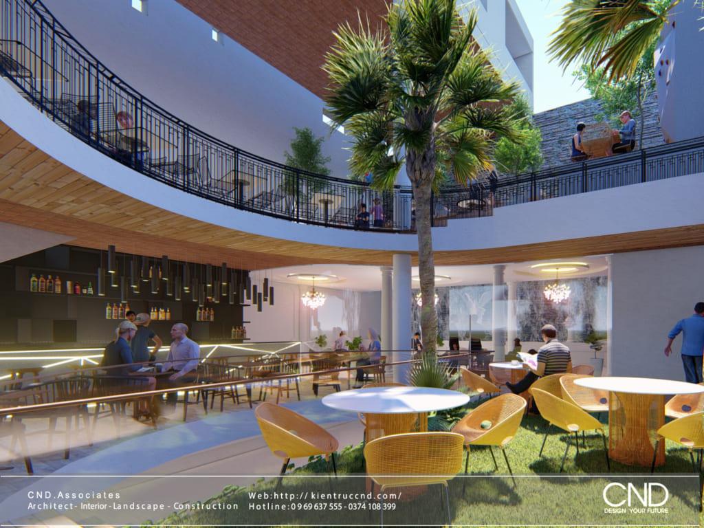 Thiết kế sân vườn - Kiến trúc CND, Thành phố Vinh, Nghệ An