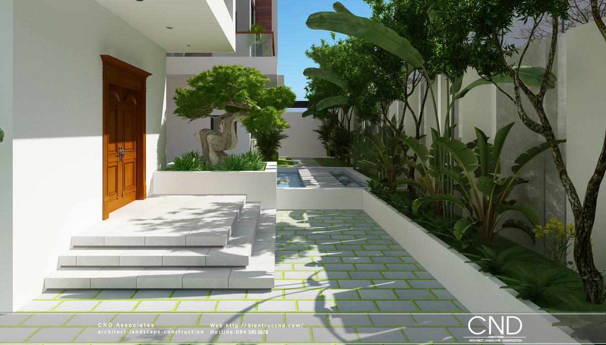 Thiết kế và thi công cảnh quan - CND Landscape, Thành phố Vinh, Nghệ An