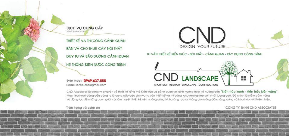 thiết kế cảnh quan CND
